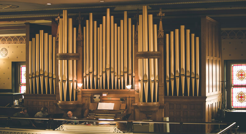 Organ – Welcome to the Old Pine Street Church – Founded in 1768